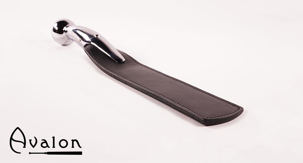 Avalon – Sort paddle med bøyd kulehåndtak